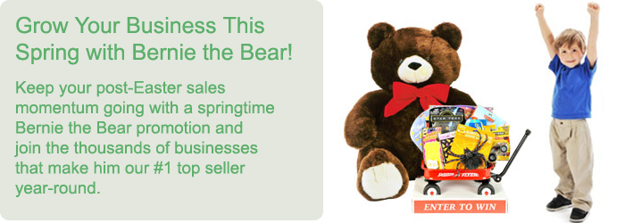 Grow Your Business with Bernie the Bear