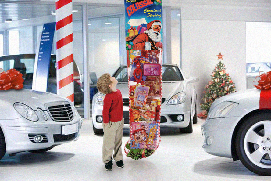 christmas displays holiday promotion ideas for auto dealerships