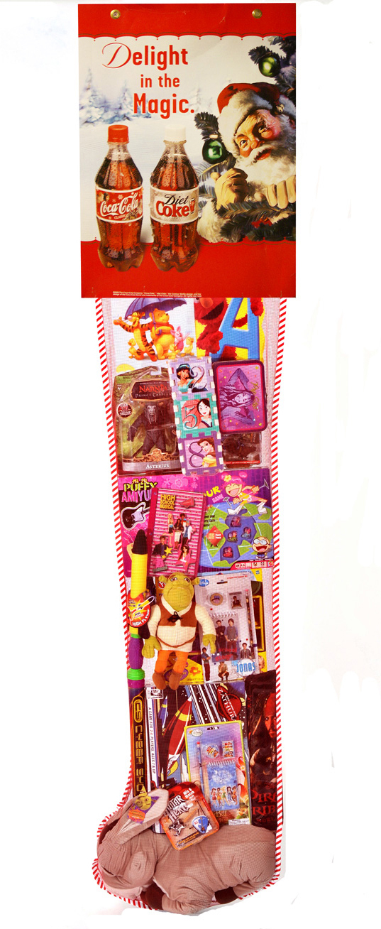 consumer product manufacturer promotions - Pre Filled Christmas Stockings