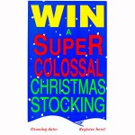 Extra Super Colossal Christmas Stocking Poster