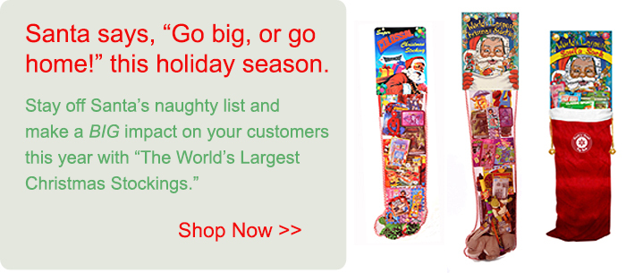 Shop for the World's Largest Christmas Stockings